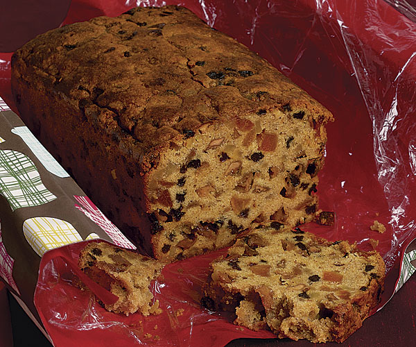 Make Ginger Fruit Cake