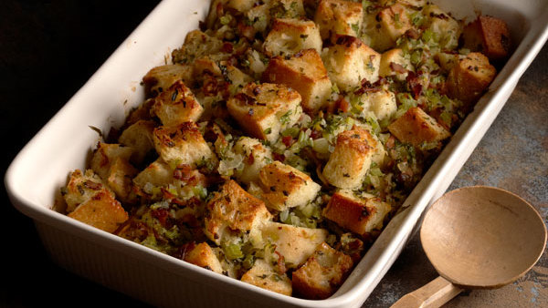Apple, Leek, and Sage Stuffing - FineCooking