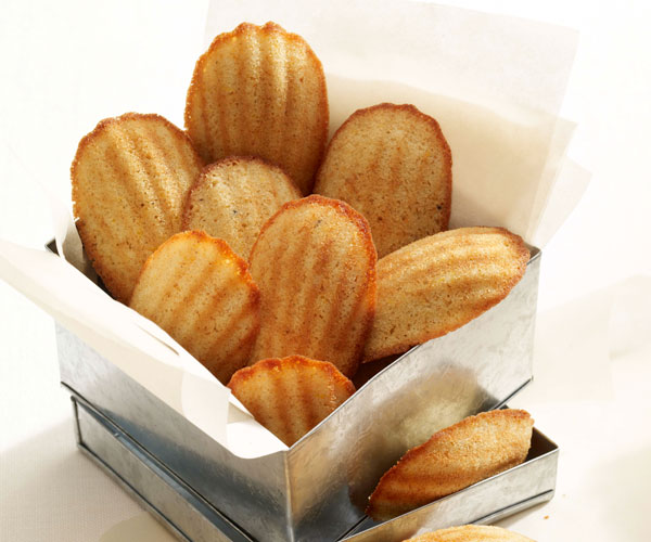 Honey-Spiced Madeleines