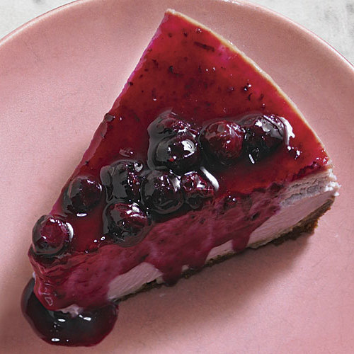 Blueberry Cheesecake With Gingersnap Crust Recipe