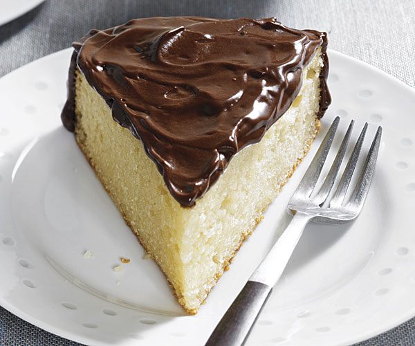 Yogurt Cake With Chocolate Ganache Frosting Recipe