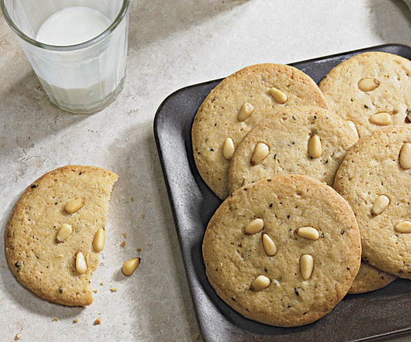 Rosemary and Pine Nut Cookies