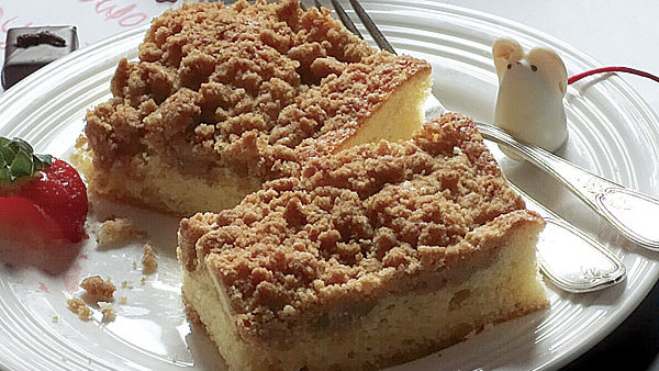 Sour Cream Coffee Cake With Brown Sugar Streusel Recipe Finecooking