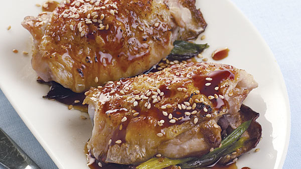 Cider-Glazed Chicken Thighs - Recipe - FineCooking