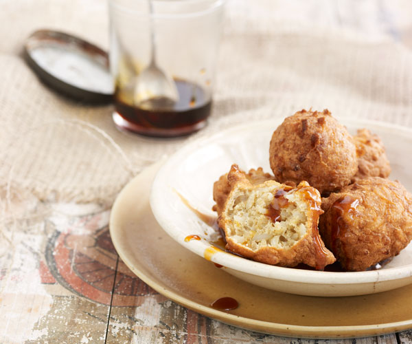 Calas fried rice fritters recipe finecooking calas fried rice fritters forumfinder Images