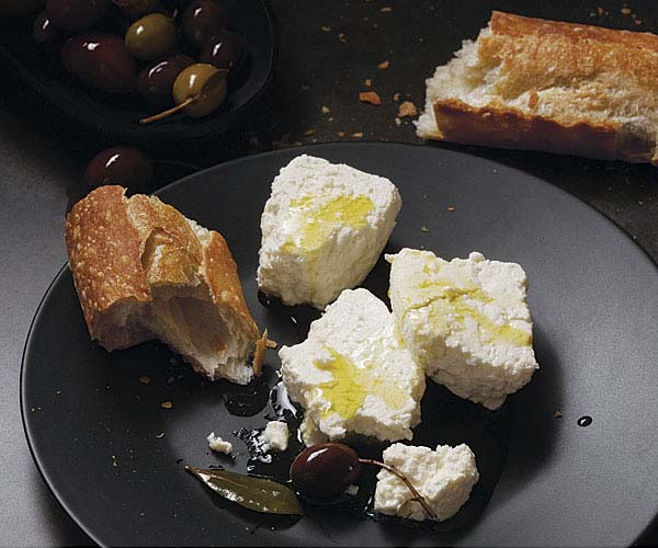 Homemade Feta