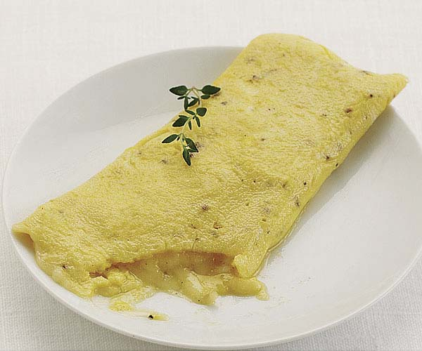 Cheese Omelet Recipe Finecooking