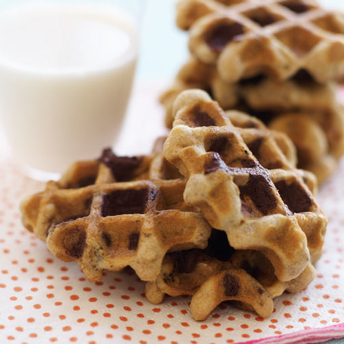 Oatmeal Chocolate Chip Waffle Cookies Finecooking