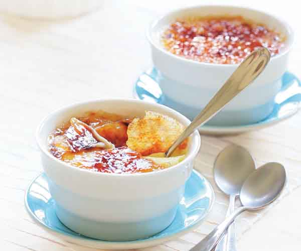 Orange Creme Brulee Recipe Finecooking