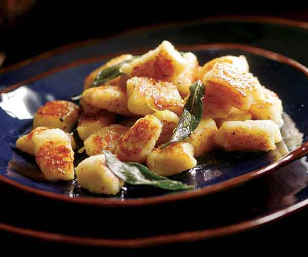 Pan-Seared Gnocchi with Browned Butter & Sage
