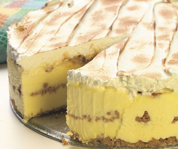 Lemon Caramel Icebox Cake