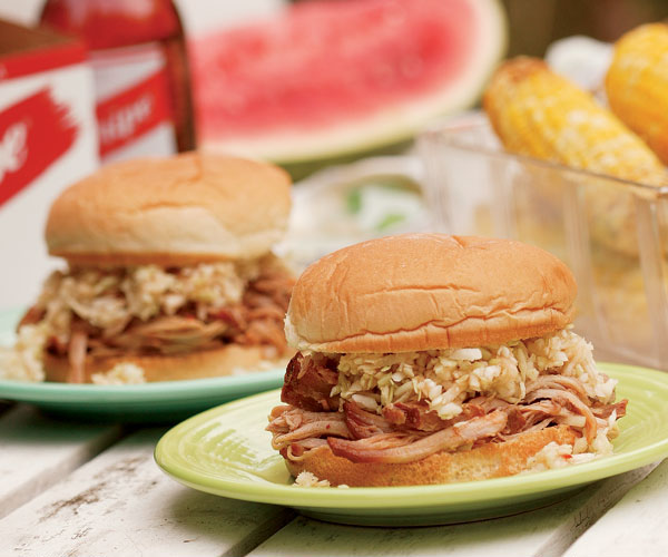 North Carolina Style Pulled Pork Sandwiches Recipe Finecooking
