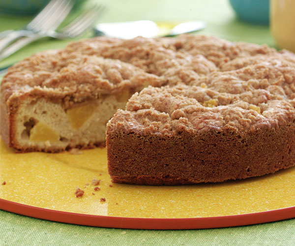 Pineapple Crumble Snack Cake