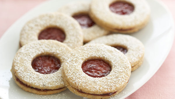 Bow Tie Cookies With Apricot Preserves Recipe Finecooking