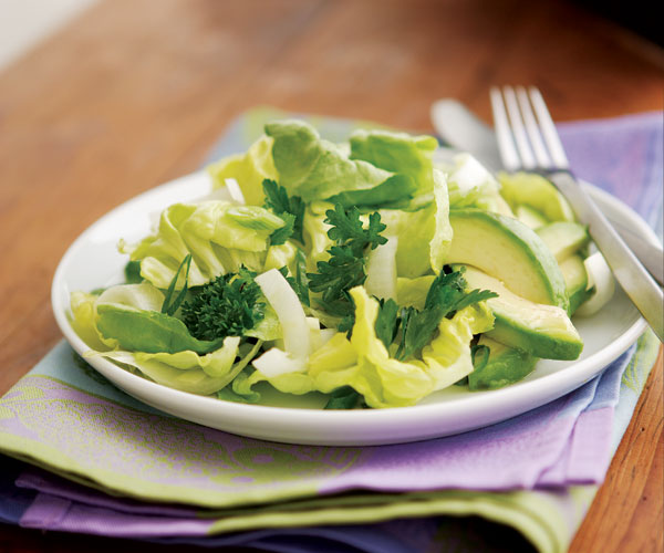 Forty Shades Of Green Salad Recipe Finecooking
