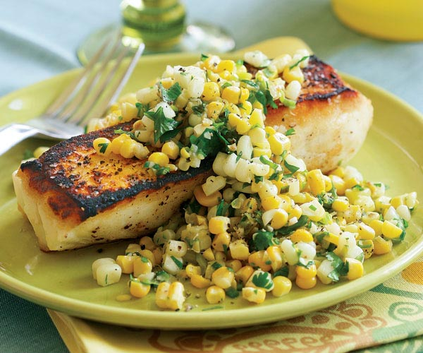 Corn Sauté with Ginger, Garlic & Fresh Cilantro