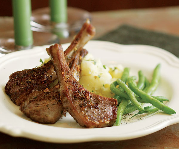 how to cook small thick lamb chops