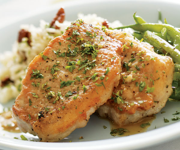 pork chops with mustard sauce fine cooking Pork Chops with Maple-Ginger Pan Sauce