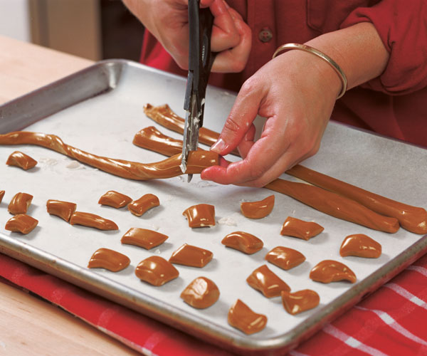 Pulled Golden Molasses Taffy Recipe Finecooking