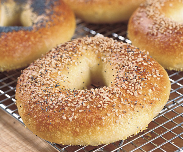 classic water bagels recipe finecooking