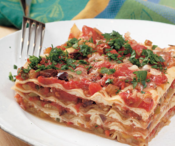 Sicilian Vegetable Lasagna