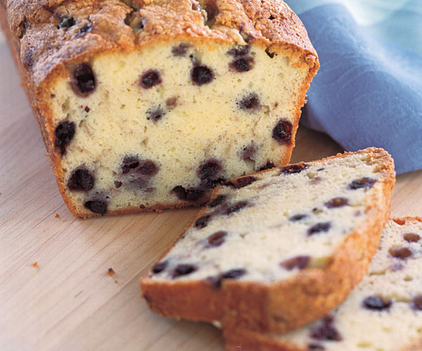 Pound Cake Loaf Recipe Sour Cream: Cream Cheese & Wild Blueberry Pound Cake