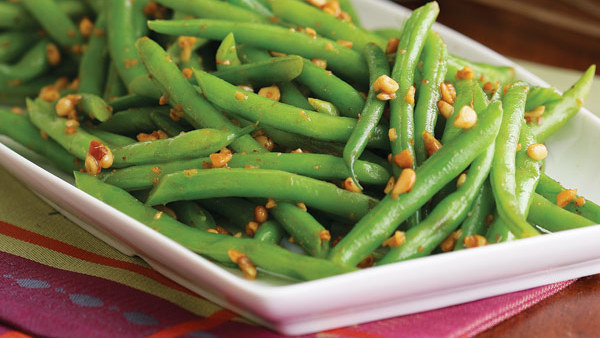 brown butter green beans with pine nuts recipe finecooking. Black Bedroom Furniture Sets. Home Design Ideas