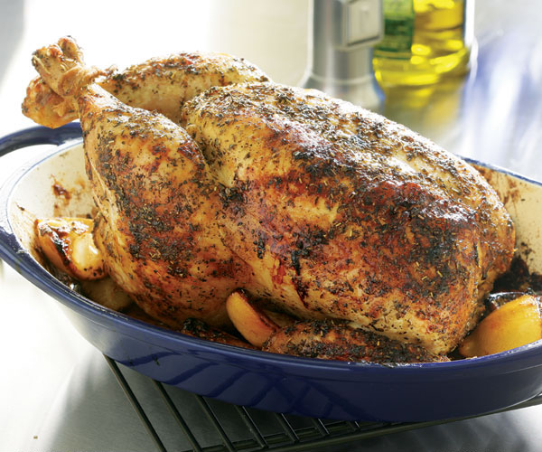 Herb Roasted Chicken With Lemons Recipe Finecooking