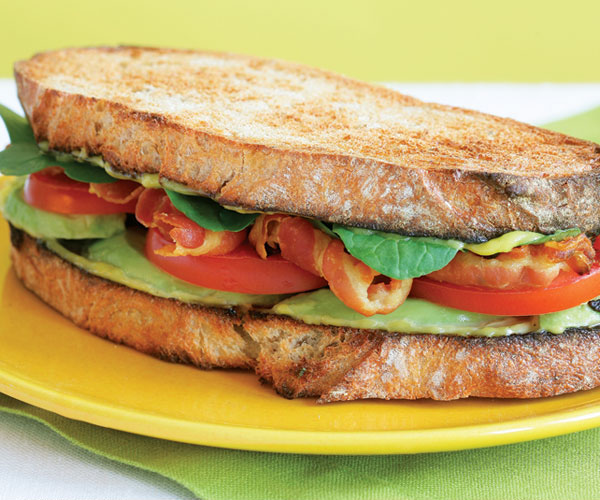 Pancetta Tomato Avocado Sandwich With Aioli Recipe Finecooking