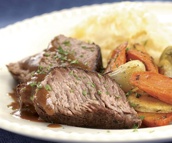 How to cook a pot roast in a rival roaster oven