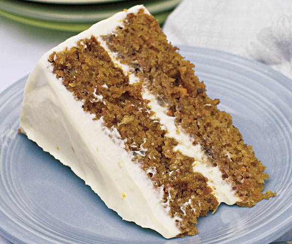 Carrot Cake With Orange Cream Cheese Frosting Recipe