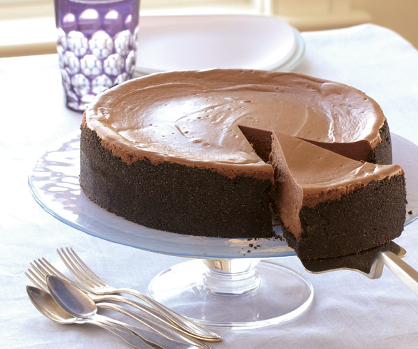 Triple Chocolate Cheesecake Recipe Finecooking