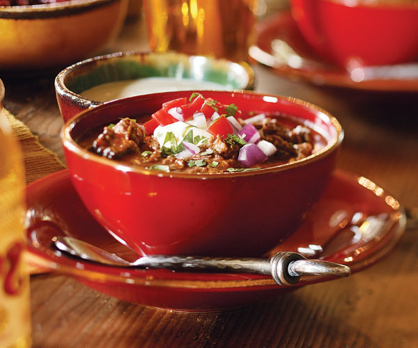 Texas Beef Chili With Poblanos Beer Recipe Finecooking