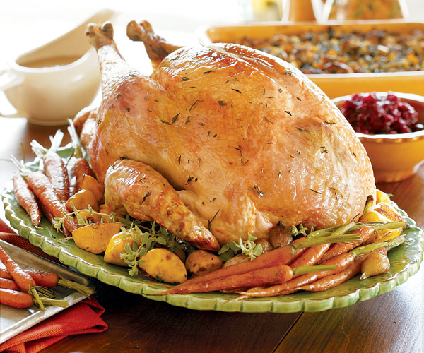 Juicy Roast Turkey - Recipe - FineCooking