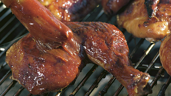 Barbecued Chicken Legs Recipe Finecooking