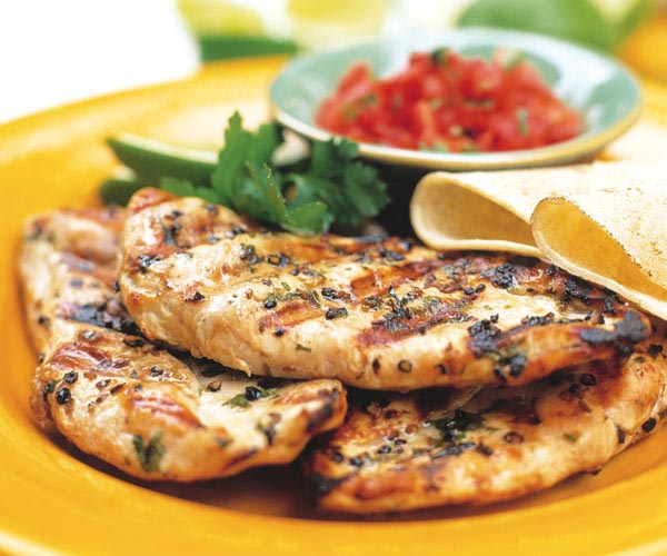 Herbed Grilled Chicken Breasts Recipe