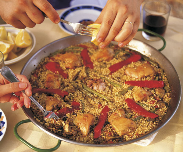Paella Recipe Finecooking