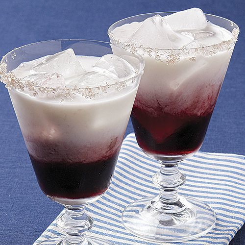 Creamy Cassis Cocktails Recipe Finecooking