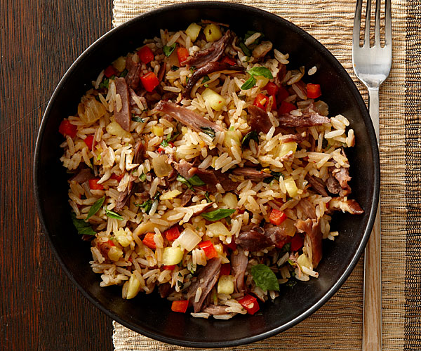 Thai Spicy Duck Pineapple Fried Rice Recipe Finecooking
