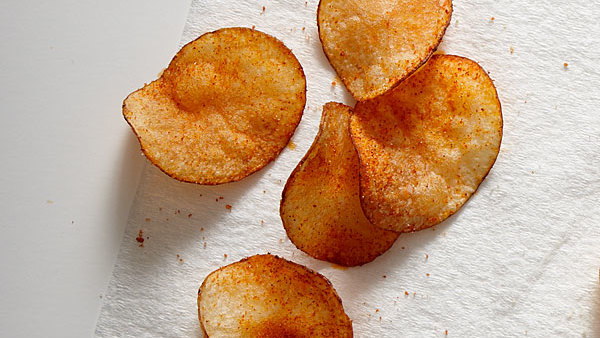 Barbecue Potato Chips - Recipe - FineCooking