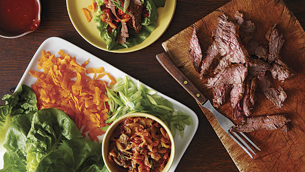 Spicy Korean-Style Pork Medallions with Asian Slaw - Recipe