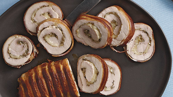 Turkey Roulades With Fontina And Sage Recipe Finecooking