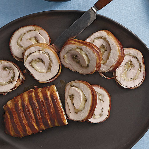 Turkey Roulades With Fontina And Sage