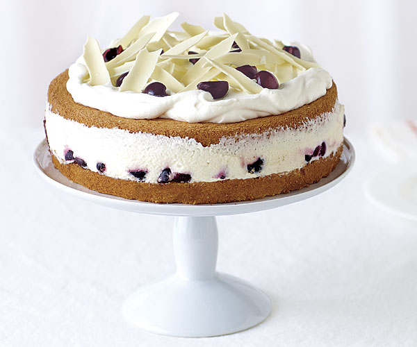 White Forest Cake Recipe Finecooking