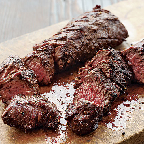 Grilled Spice Rubbed Hanger Steak Recipe Finecooking