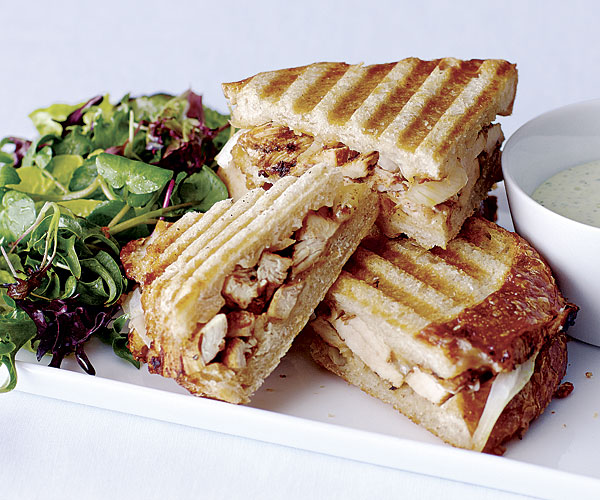 Cajun Chicken Panini With Spicy Dipping Sauce Recipe
