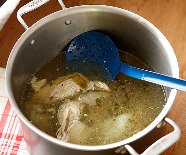 Chinese Chicken Broth - Recipe - FineCooking