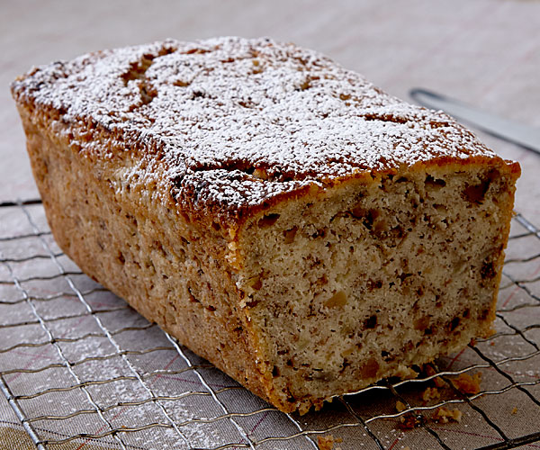 Double banana walnut bread recipe finecooking ingredients forumfinder Images