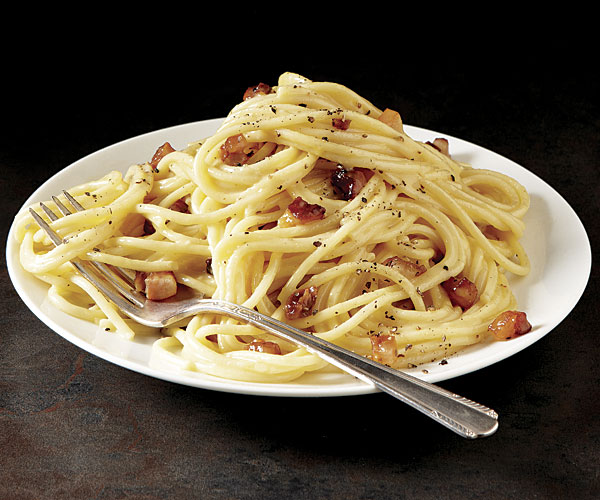 Classic Pasta Carbonara - Recipe - FineCooking