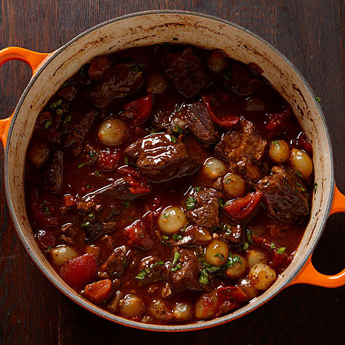 Italian sunday dinner ideas finecooking italian style beef and porcini stew forumfinder Image collections